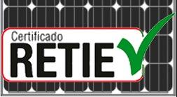 RETIE-Certificado Noticias de Amerisolar