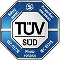 TUV-Sud-Certification Certificaciones Paneles Solares