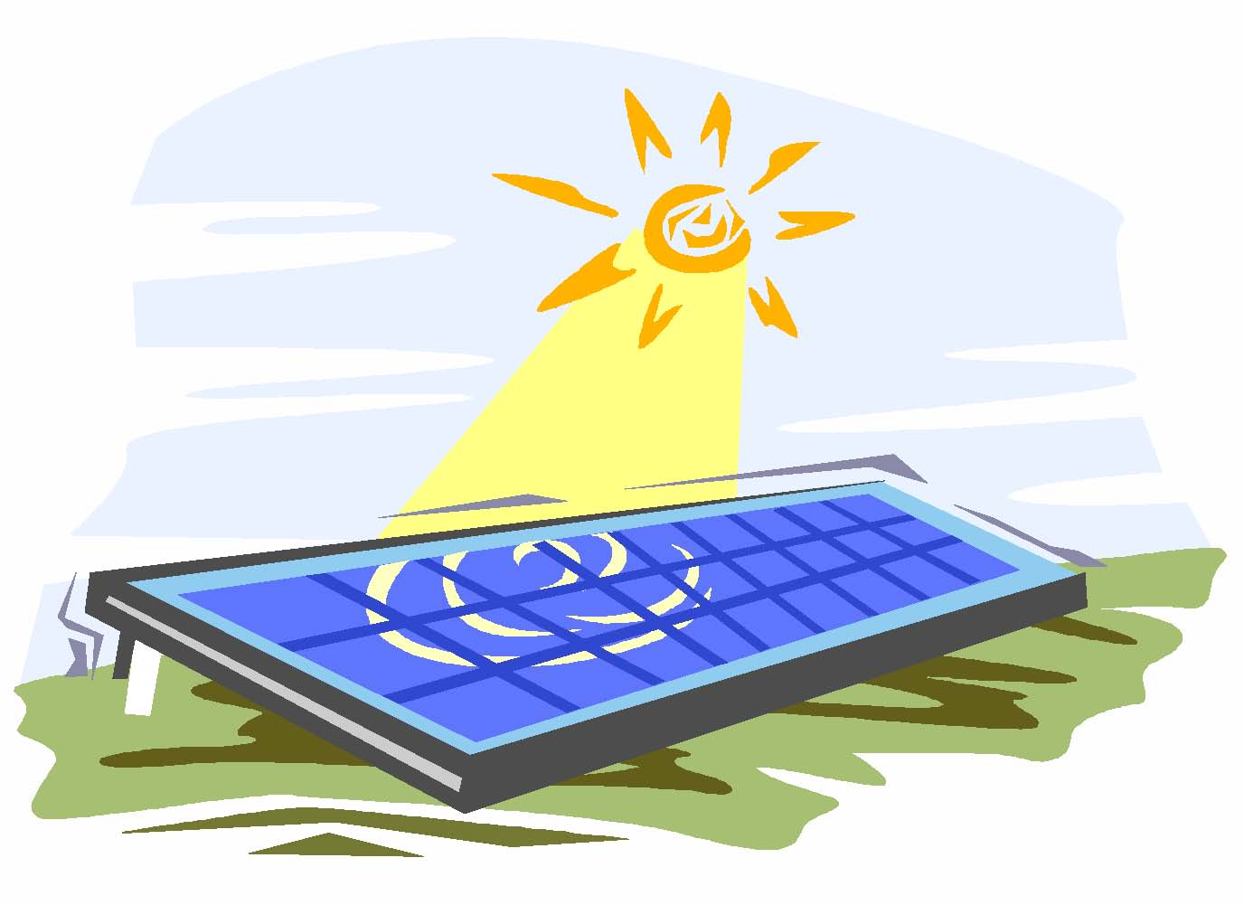 Solar-Panel-Clip-Art Noticias de Amerisolar